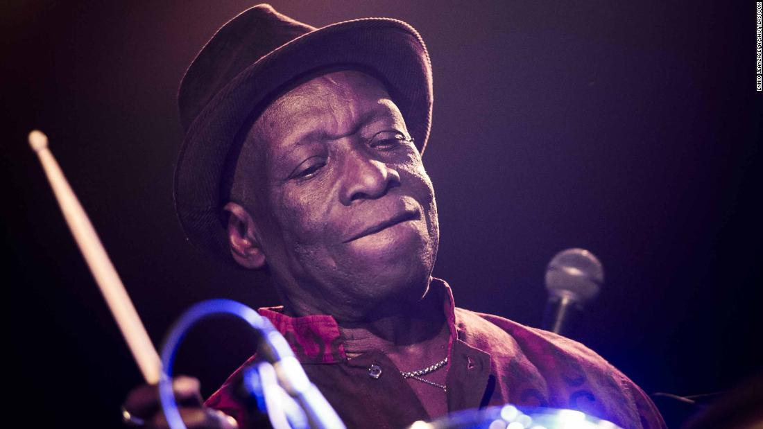 Tony Allen, drummer and pioneer of Afrobeat, died at the age of 79