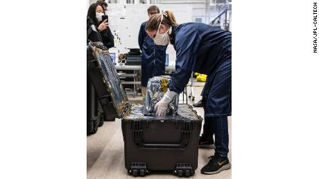 Engineers at NASA sent a prototype ventilator for coronavirus patients to the Icahn Medical School on Mount Sinai in New York.