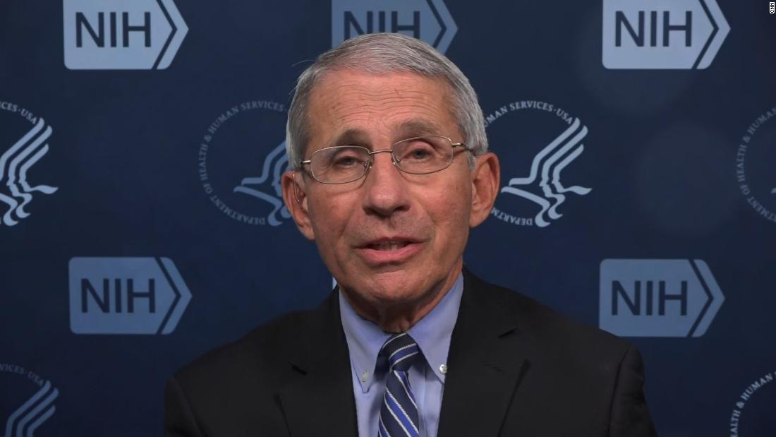 Here's what Dr. Fauci is concerned about as states reopen