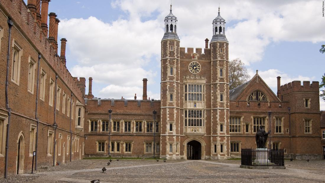 Many of the UK's prime ministers -- including Boris Johnson and former leader David Cameron -- attended Eton.