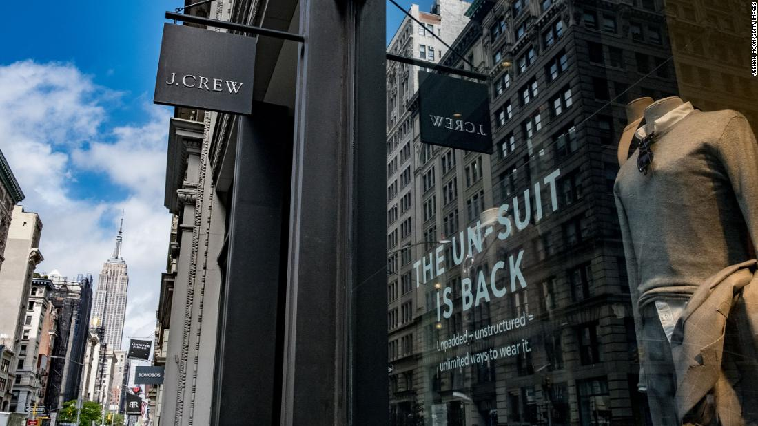 J.Crew Group has filed for bankruptcy