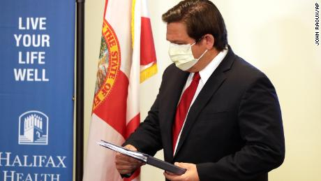 The Governor of Florida claims the victory of the coronavirus, but luck may be a factor