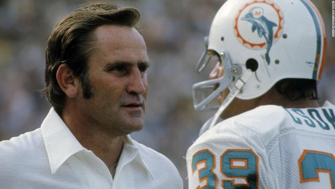 Legendary Dolphins coach Don Shula dies at 90