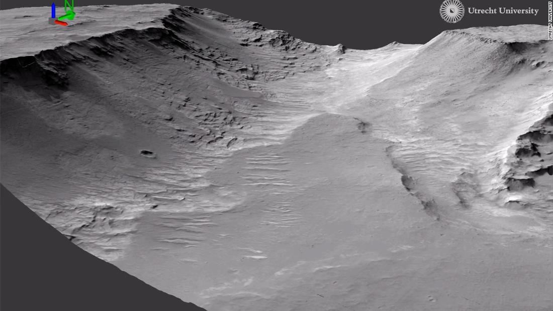 Evidence of ancient rivers is seen on Mars, said the study