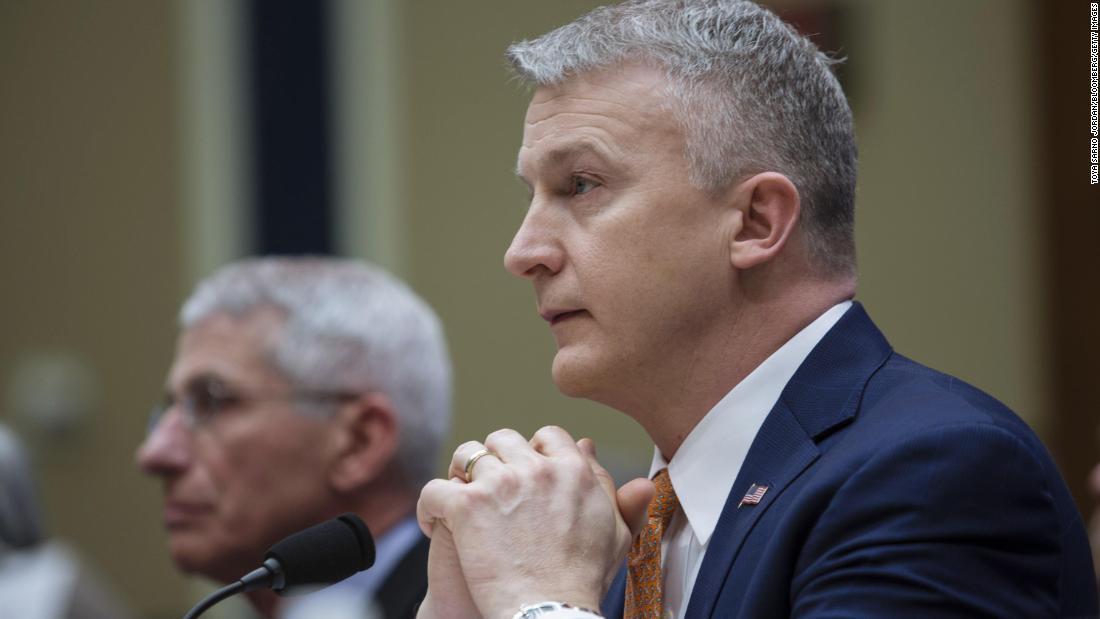 Director of key vaccine agency says his dismissal was retaliation