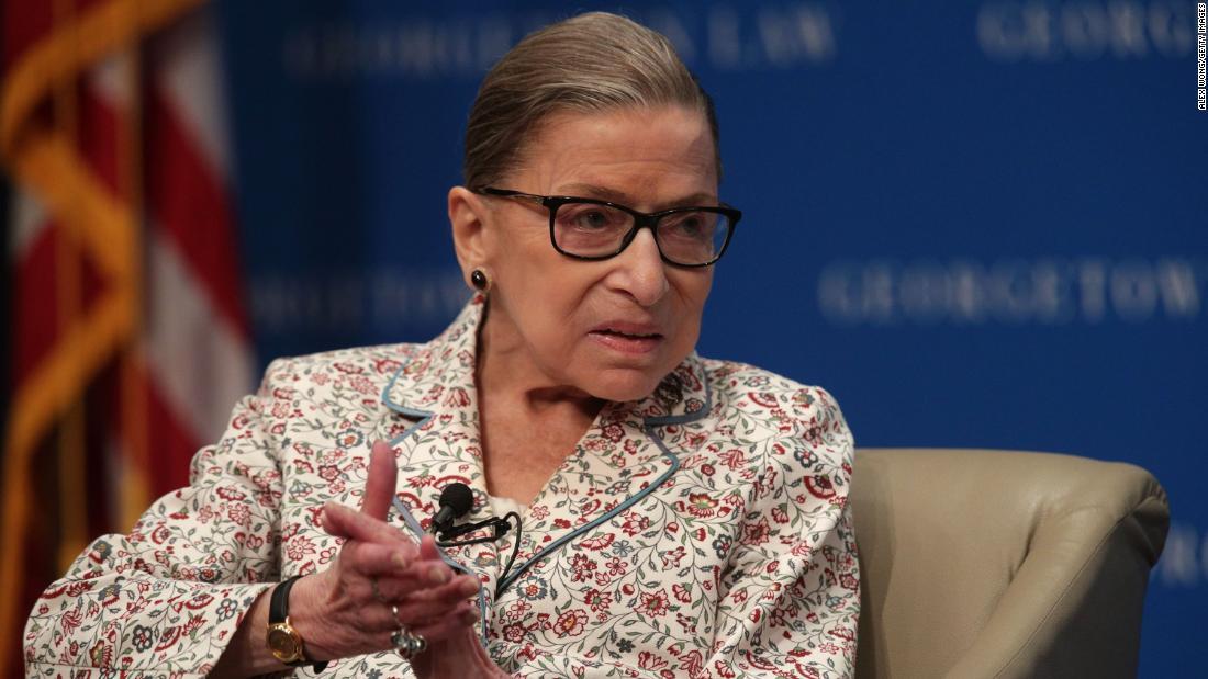 Ruth Bader Ginsburg responds to health concerns (2019)