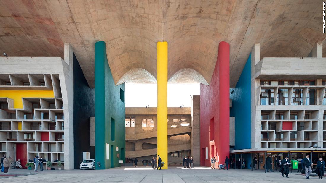 Explore Le Corbusier's modernist metropolis in India