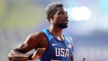 An asthma sufferer, fast runner Noah Lyles takes extra precautions amid a pandemic