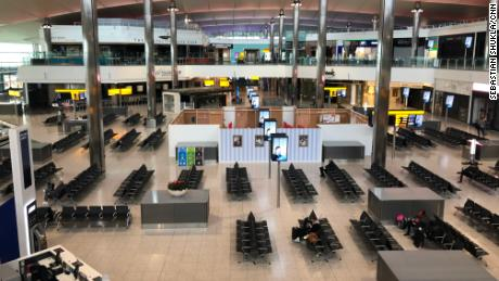 The almost empty terminal at Heathrow can become a new normal.