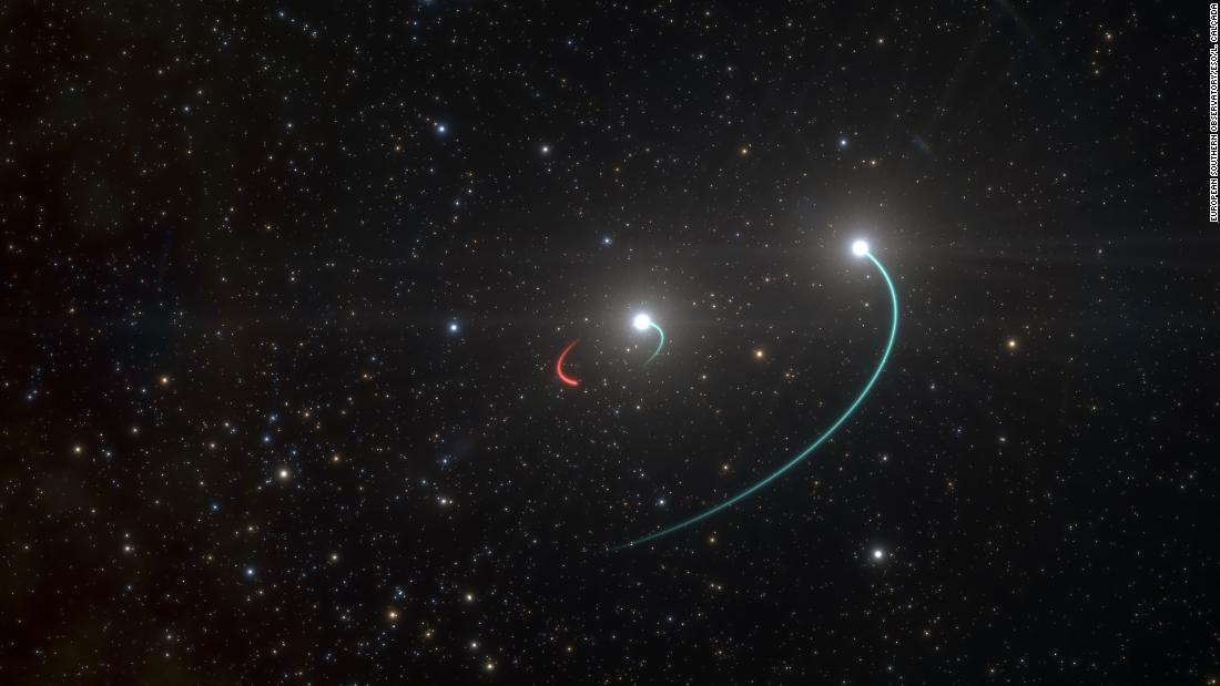 Astronomers find a black hole closest to Earth, 1,000 light-years away