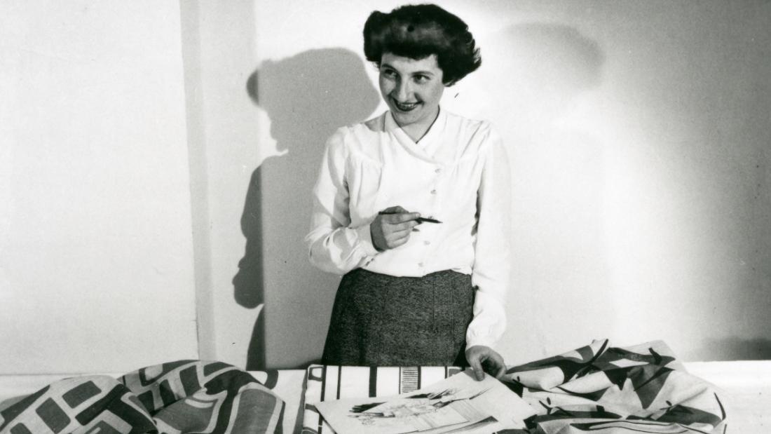 Designer Ruth Adler Schnee helped define medieval modernism