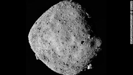 This asteroid is sending cells out into space.  Tell us why a spaceship
