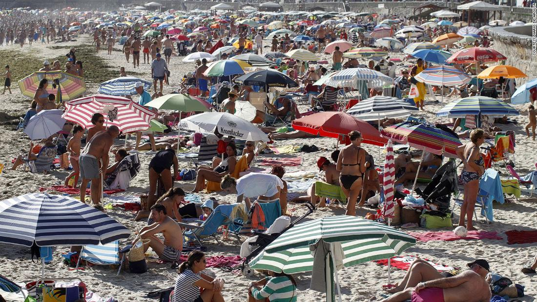 You may need a reservation for the beach this summer