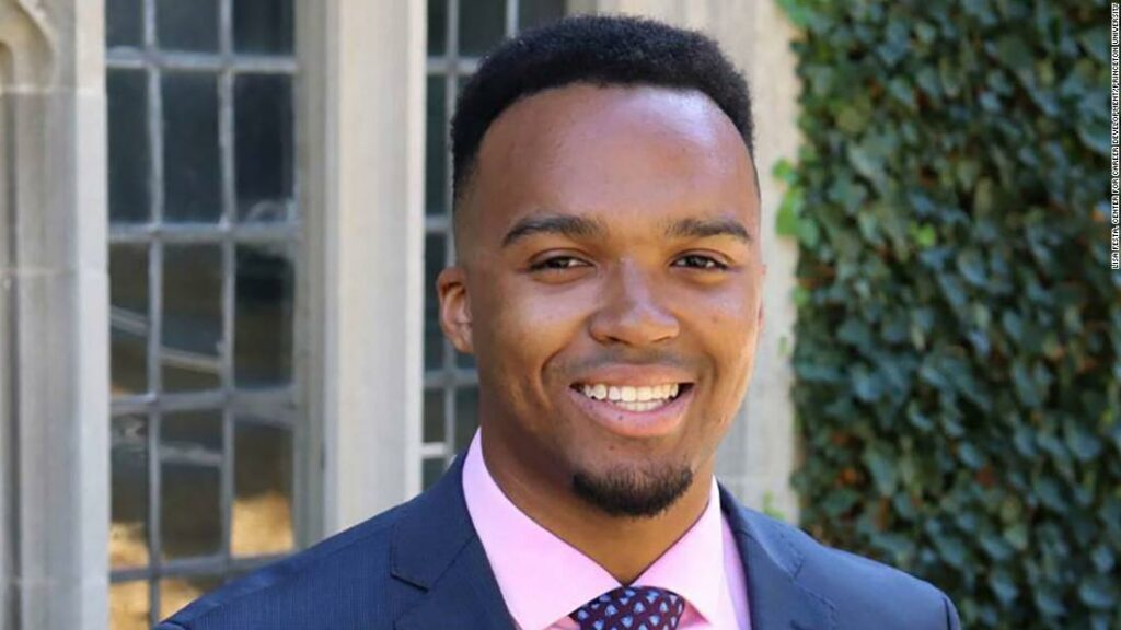 Princeton names first black valedictorian in university's 274-year history