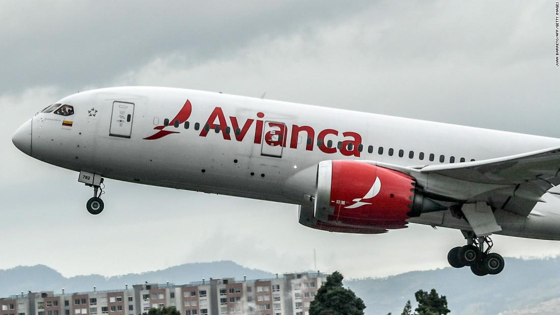 Avianca, one of the largest airlines in Latin America, filed for bankruptcy