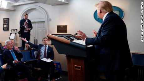 Trump cruelly attacks NBC News reporters in harsh words after being asked to message to Americans worried about coronavirus