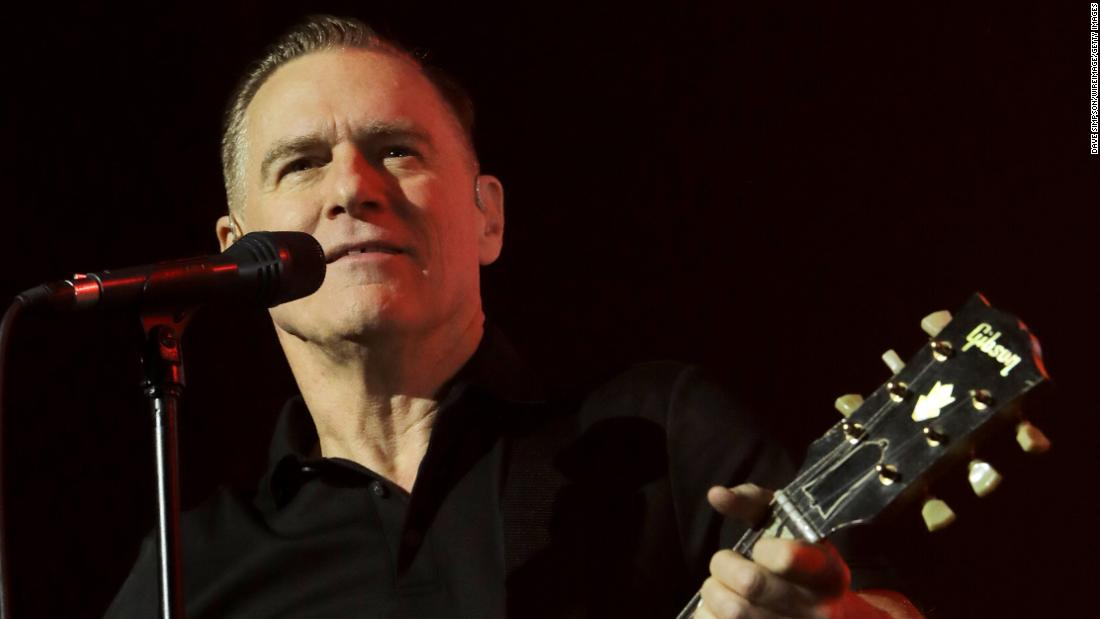 Bryan Adams performs at Spark Arena on March 12, 2019 in Auckland, New Zealand.
