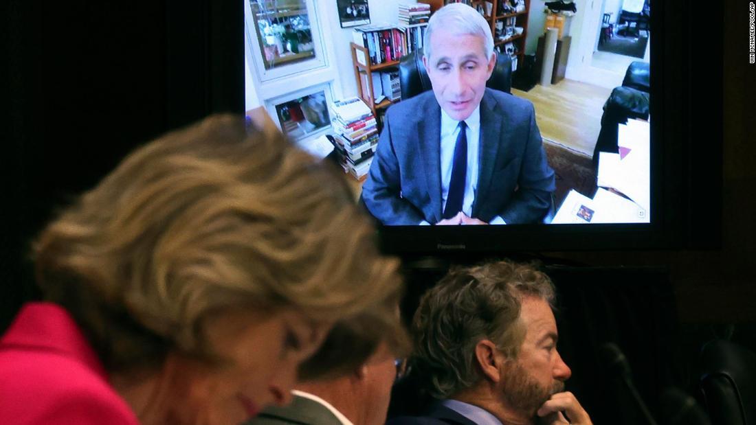 Sen. Rand Paul tells Dr. Fauci he isn't the 'end all'