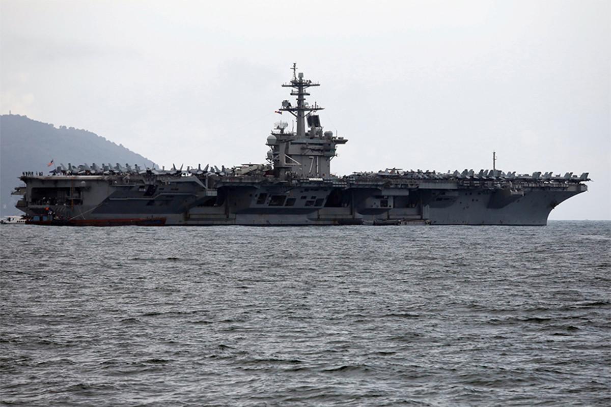 USS Theodore Roosevelt's sailors tested positive for coronavirus
