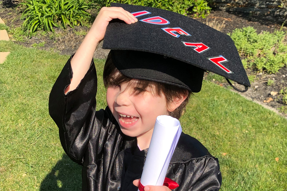 The New York Kindergarten tragedy is that he cannot be a 'big boy' when he graduates