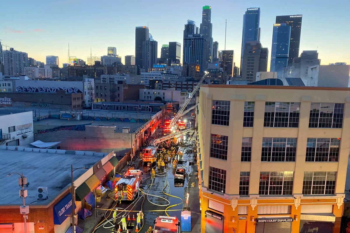 A criminal investigation into the LA hash-oil warehouse explosion has begun