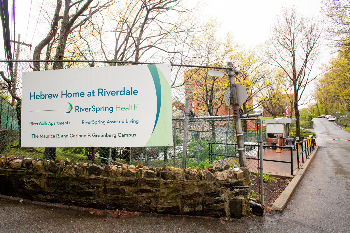 COVID raises death toll after Hebrew Home Post report in Riverdale