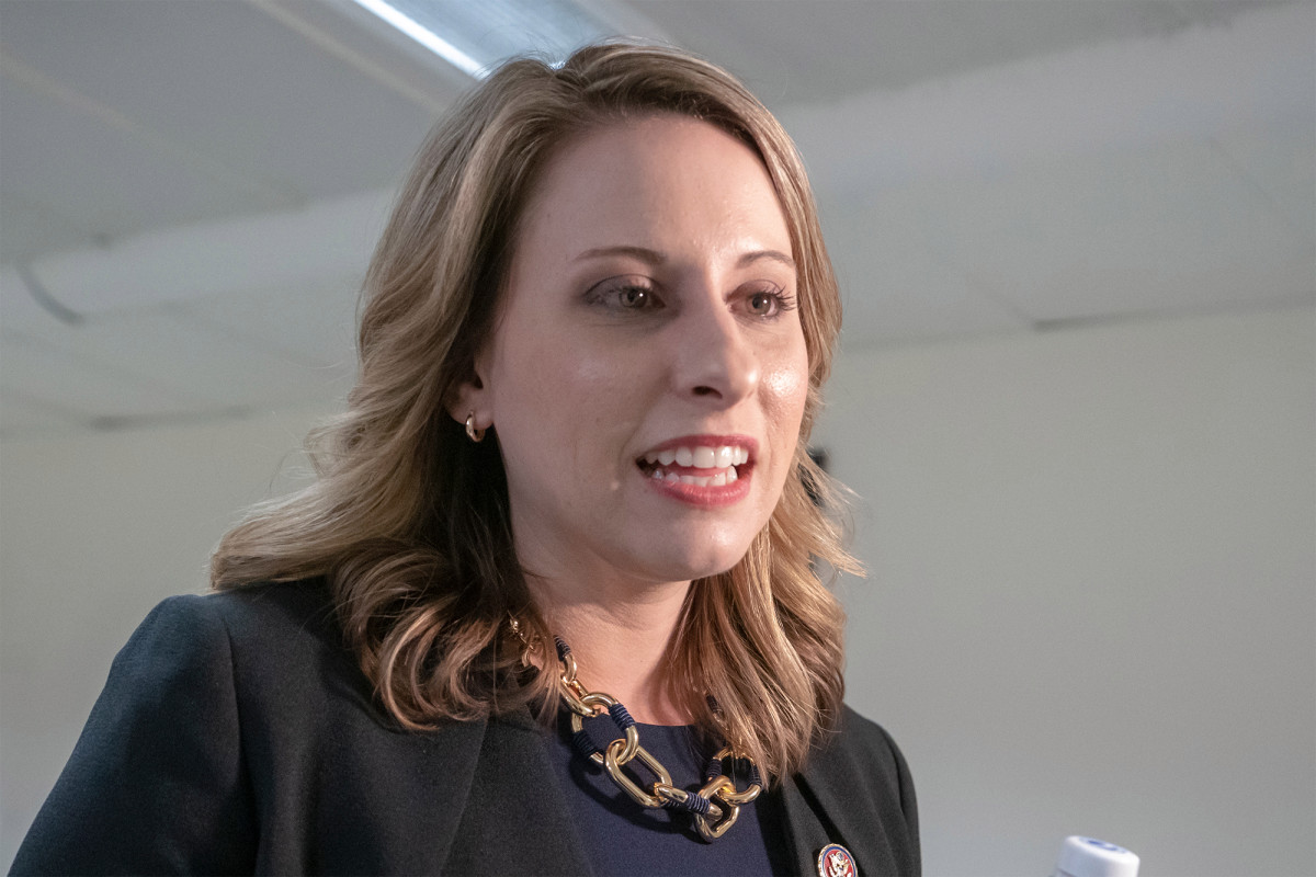 Katie Hill says she cried a few days after the Republican took her seat
