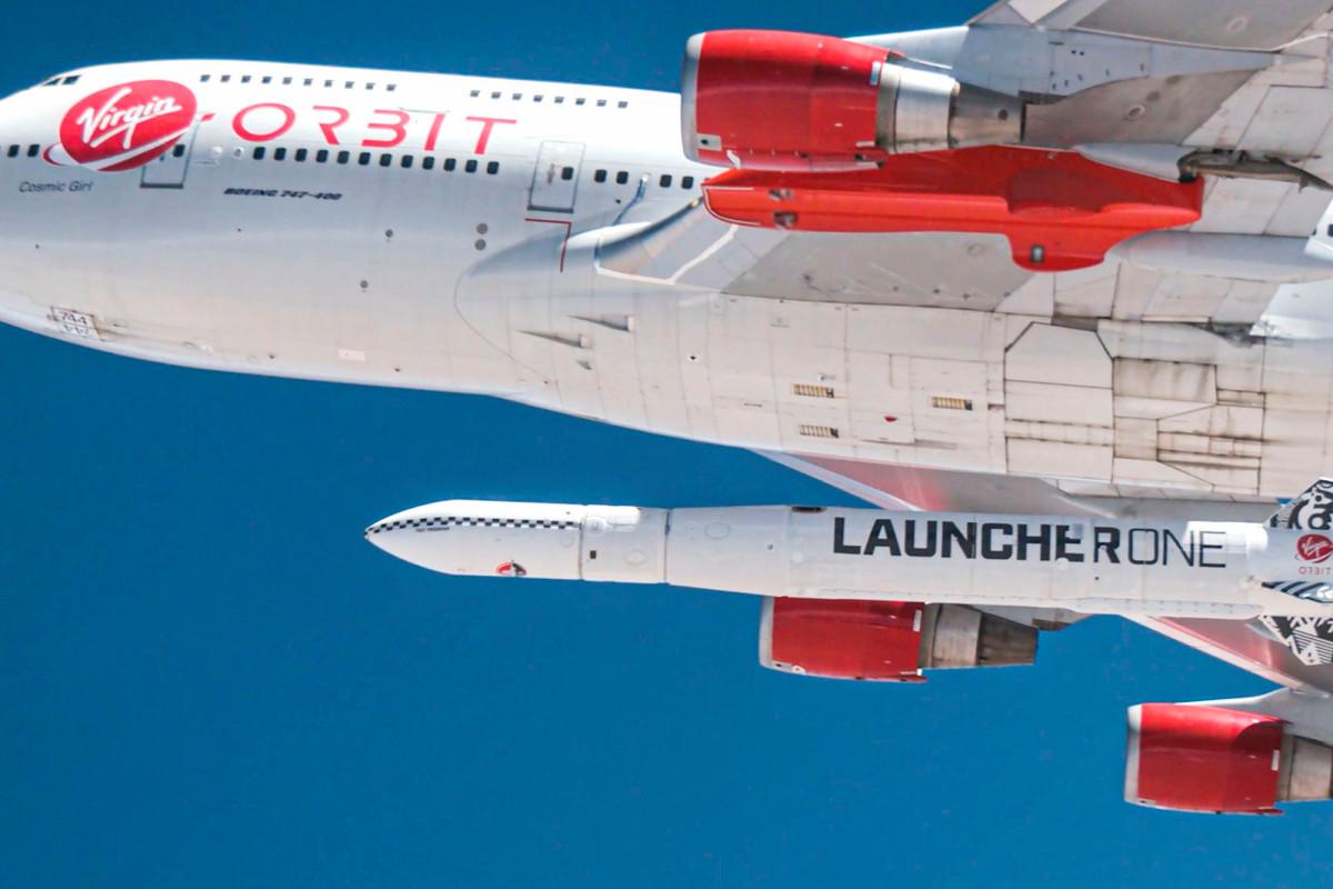 Richard Branson's rocket test fails on the California coast
