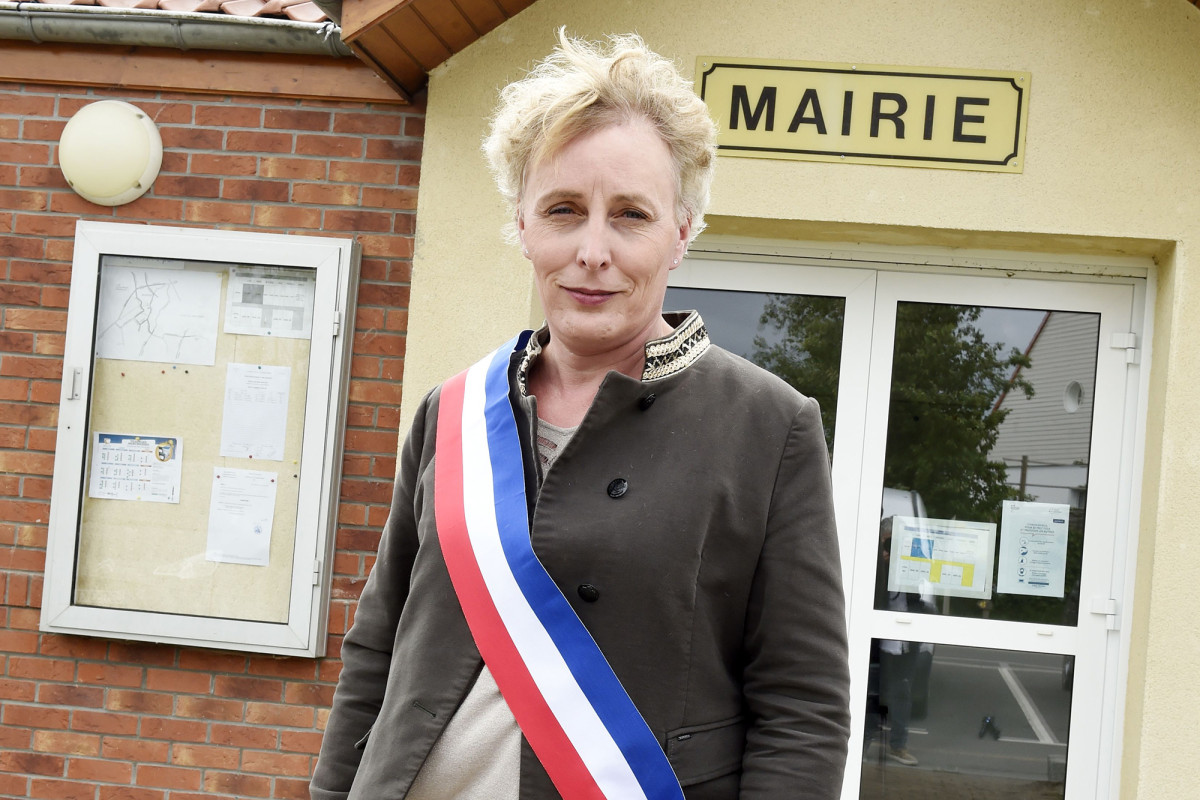 The small village elects France's first transgender mayor, Mary Ga