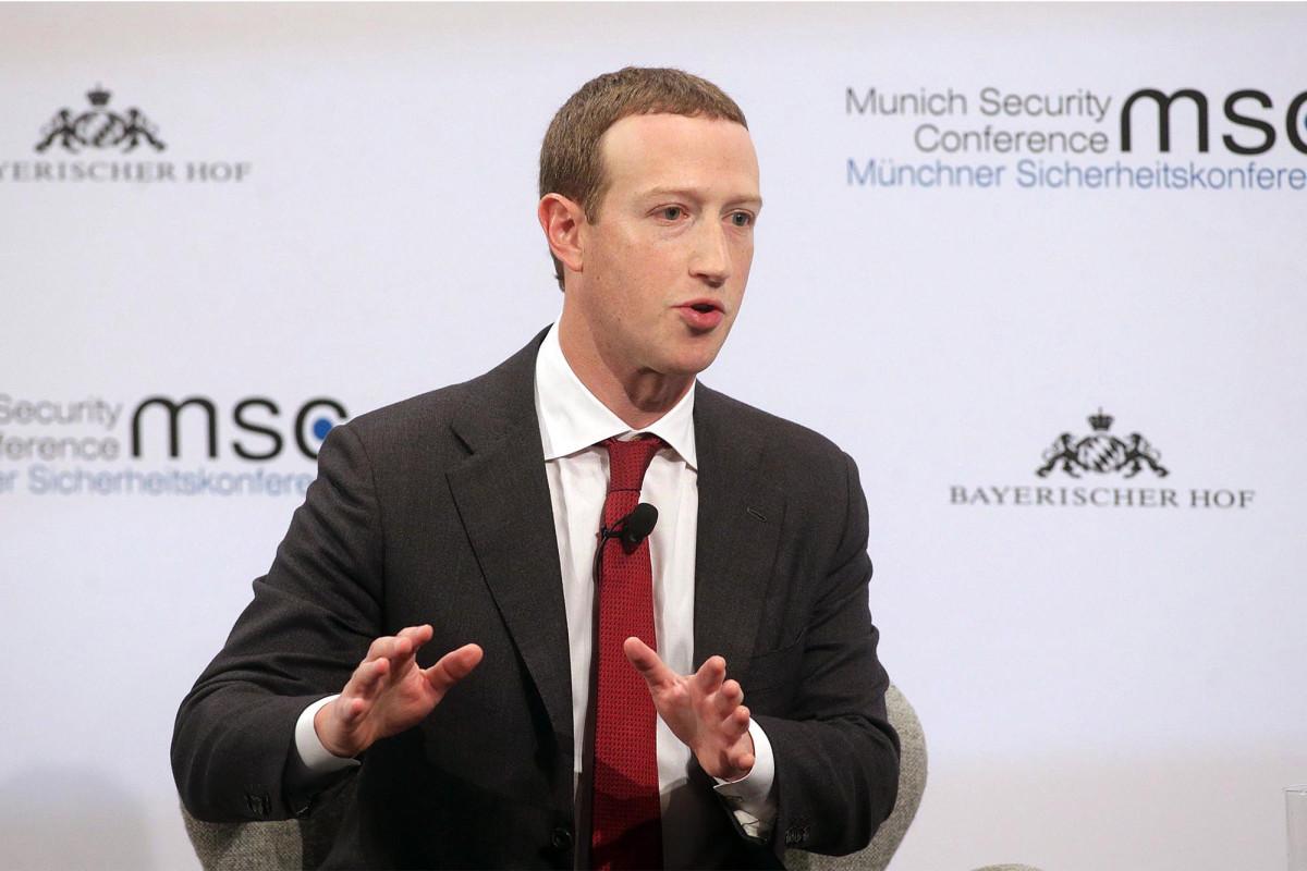 Mark Zuckerberg criticized Twitter for verifying Trump