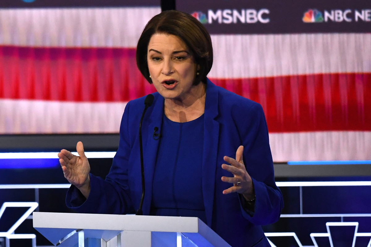 Amy Klobuchar says she was not charged with filming Derek Chuvv