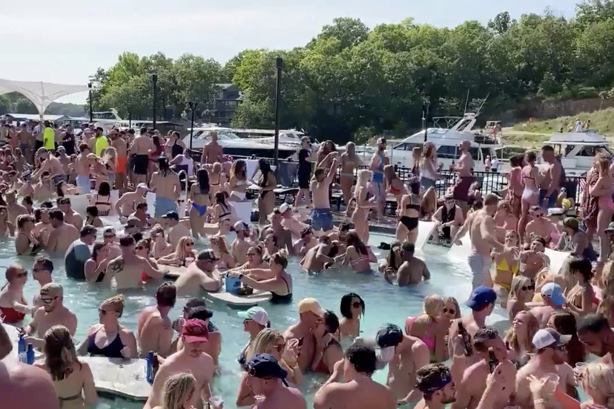 The Ozarks Partier tested positive for Lake Corona virus