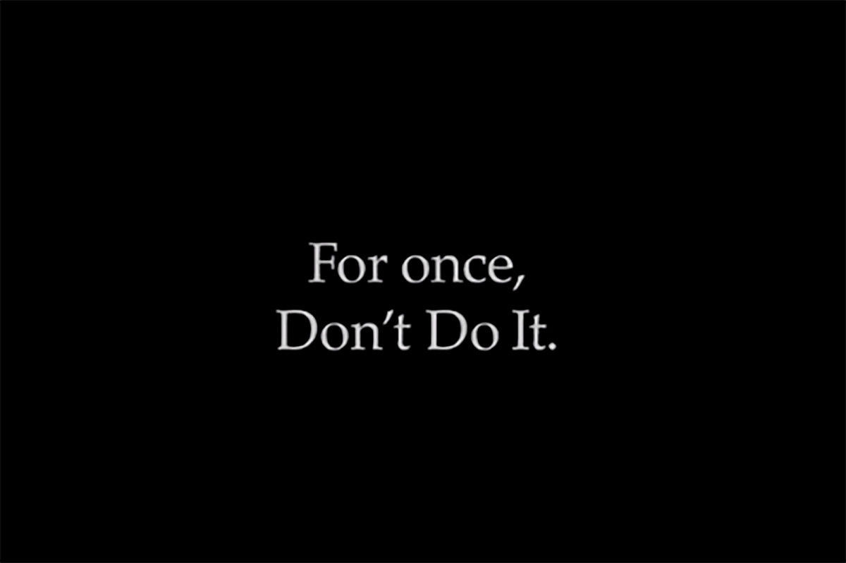 Nike releases 'Don't Do It' following George Floyd's death