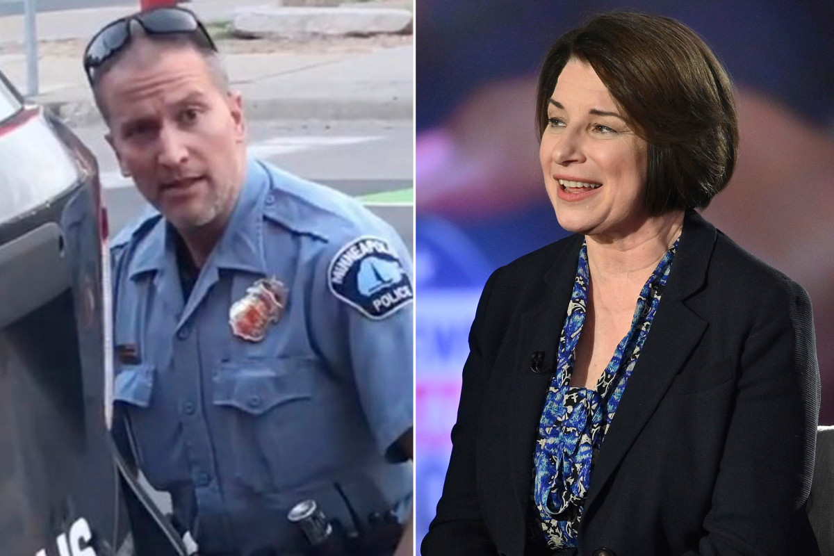 Amy Globuchar had previously refused to prosecute the police