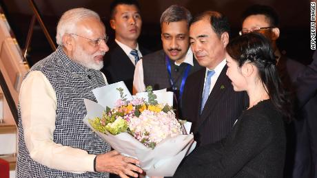 China and India agreed to maintain border peace, when the summit ended