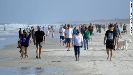 The beach reopened. If you go, please be smart about that