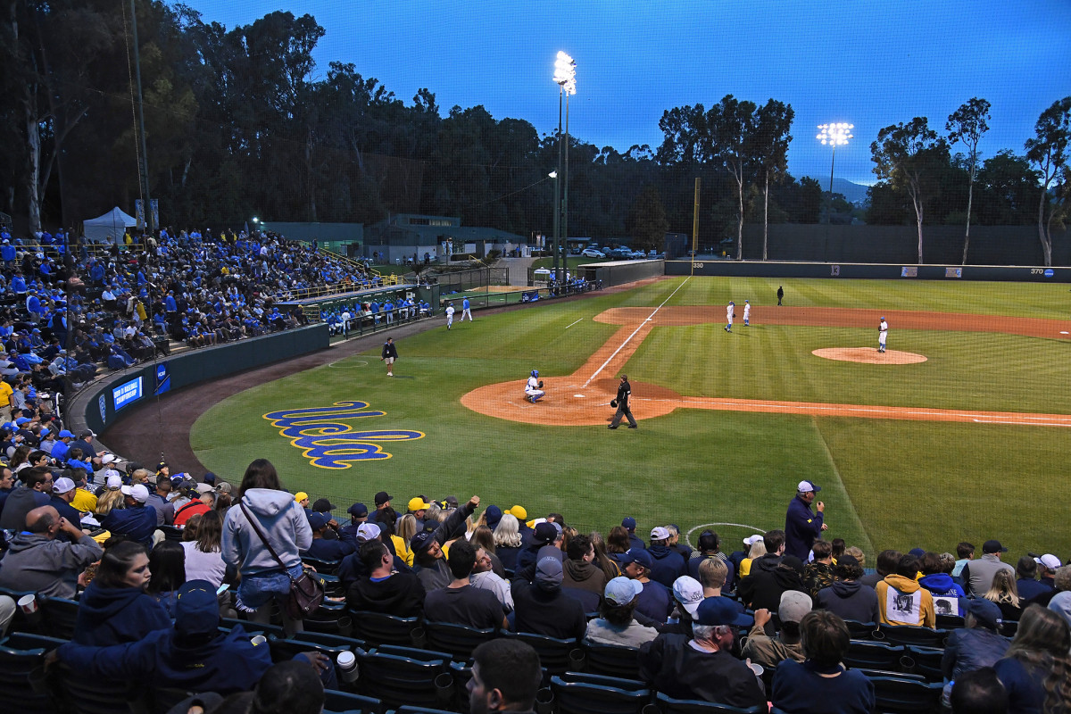 UCLA angry over LAPD using Jackie Robinson Stadium as field prison