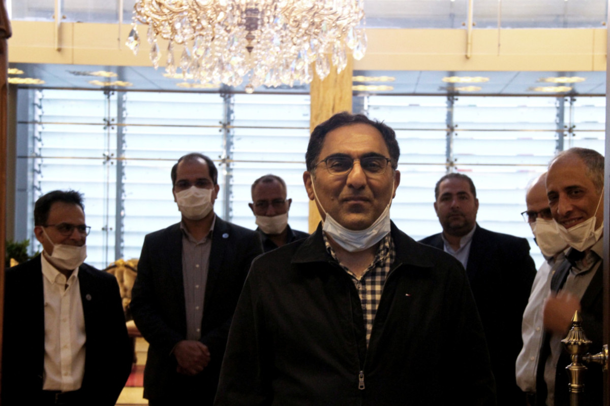 An Iranian scientist has returned home from the US