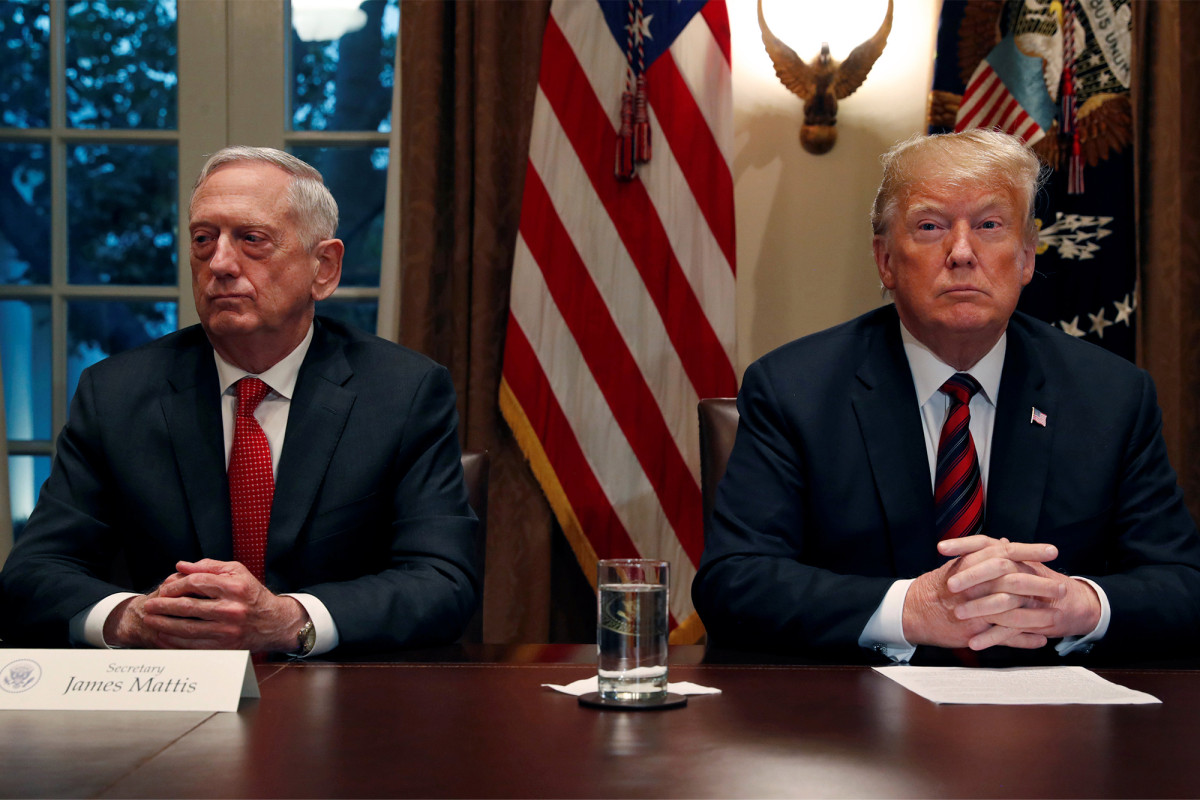 Trump says he was 'honored' to have fired James Mattis