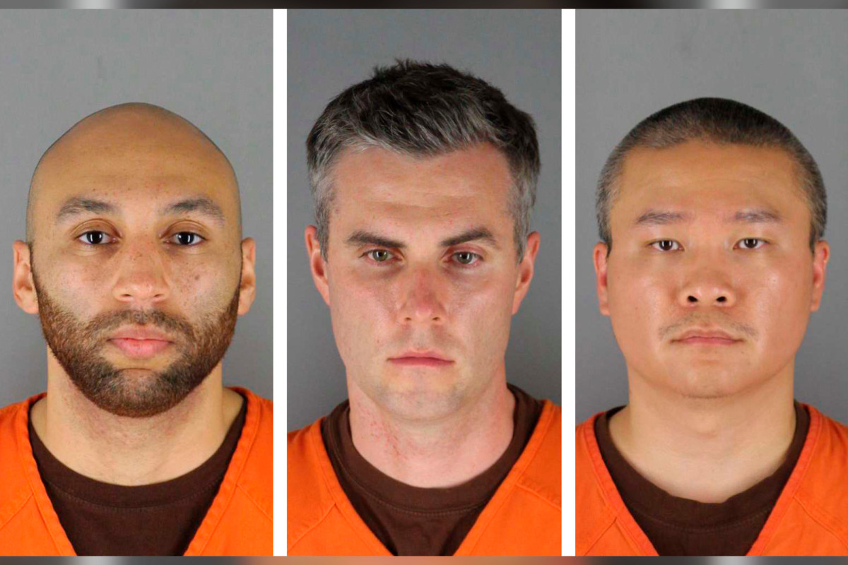 750K bail for 3 policemen involved in the death of George Floyd