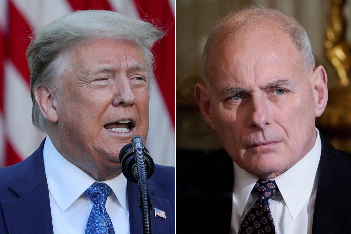 Trump lashes out at James Mattis, John Kelly