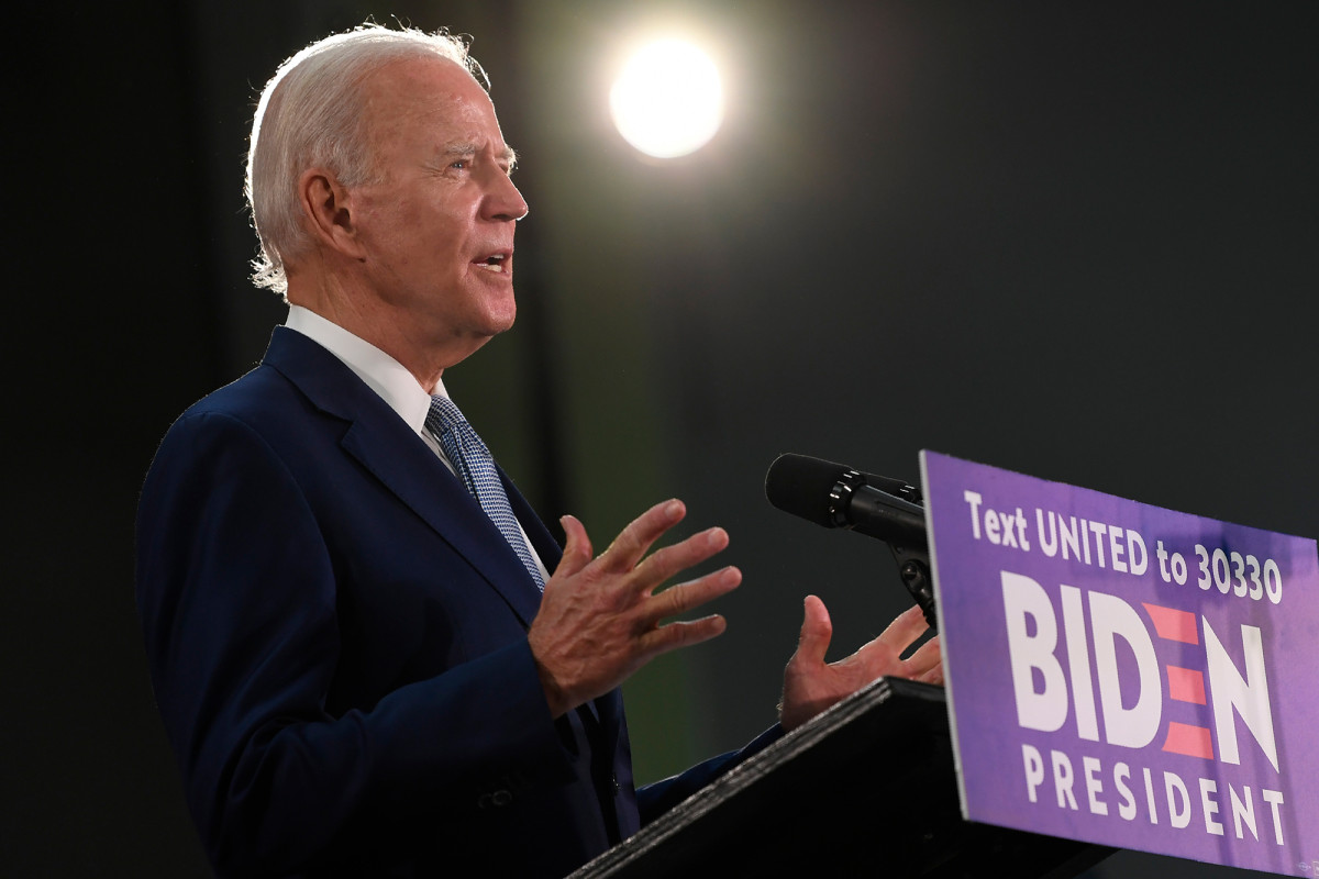 Biden broke with the BLM movement to oppose police fraud