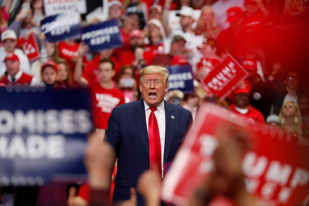 Trump campaign rallies to start again in the next couple of weeks