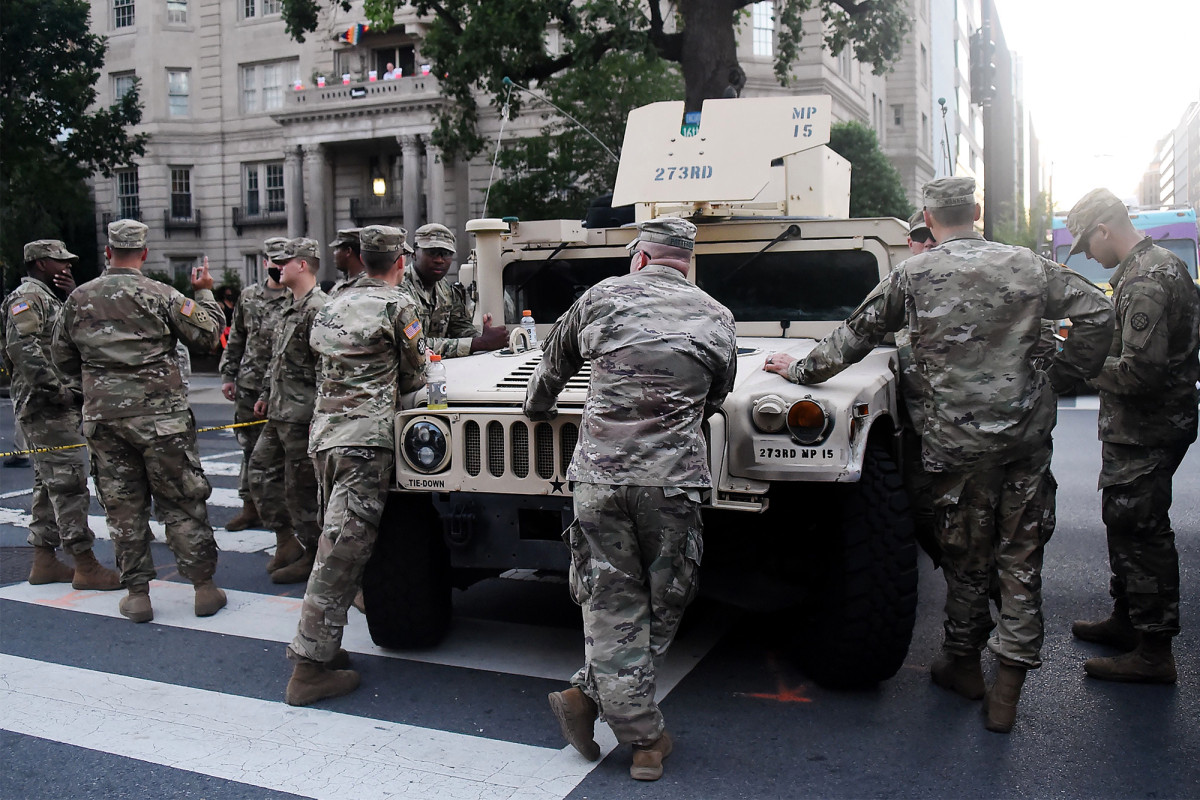 National Guard troops test positive for COVID-19