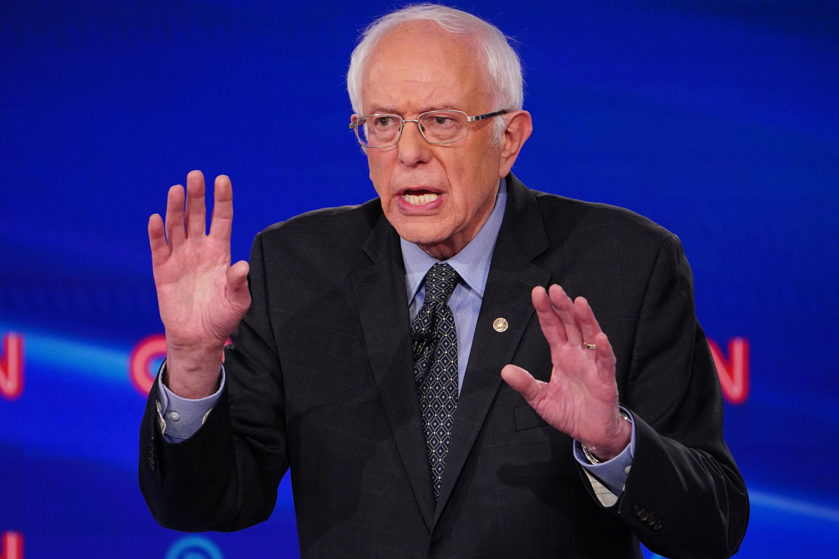 Sanders does not support the repatriation of the police and wants to give the police more money