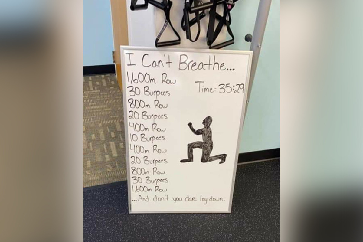 Wisconsin apologizes for providing Jim's 'I Can't Breathe' workout