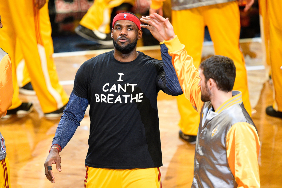LeBron James started nonprofit suffrage with black stars