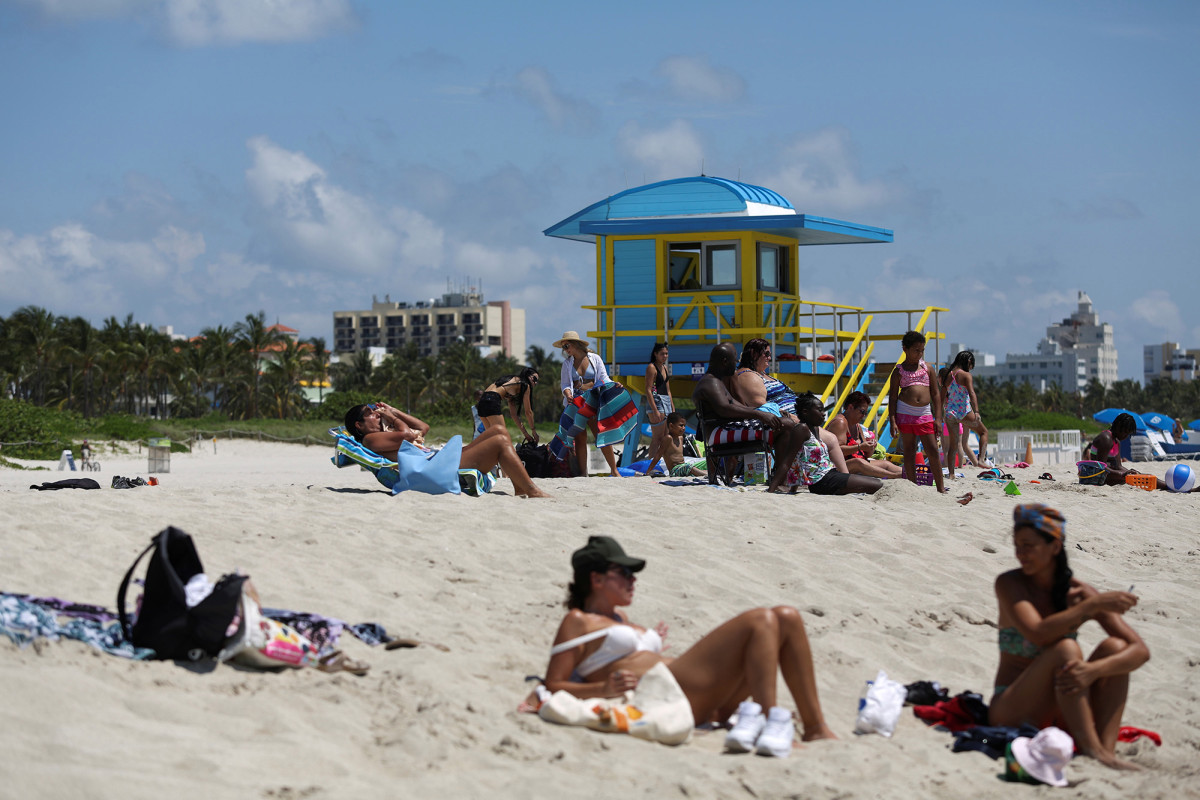 Florida broke the record for new Corona virus cases in a single day