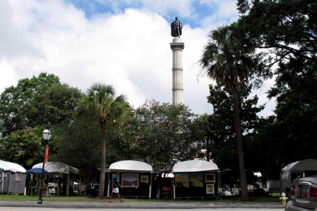 Charleston's Calhoun statue to be removed amid George Floyd protests