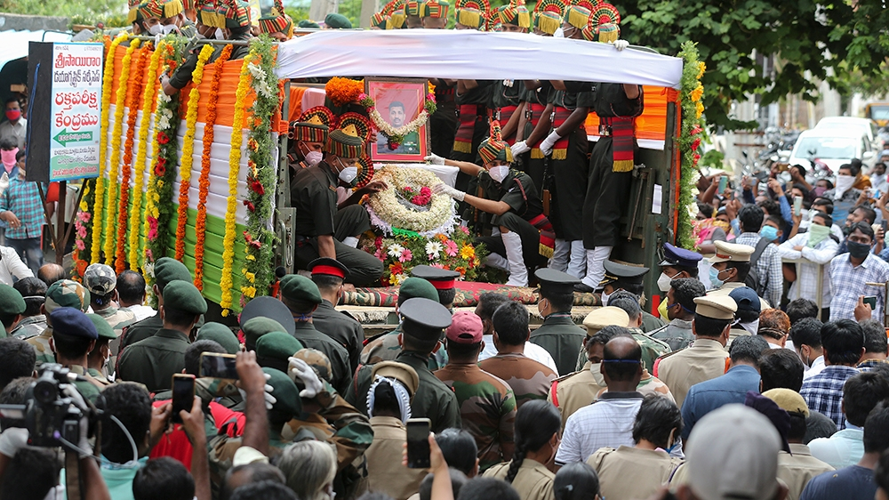 India funeral